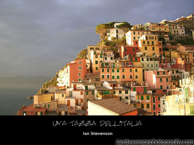 Una Tazza dell'Italia Photobook - Ian Stevenson Photography